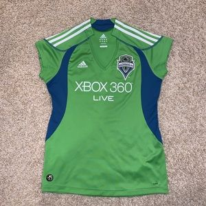 Inaugural year Seattle Sounders women's jersey